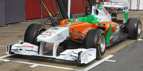 Force India Bahrein 2012